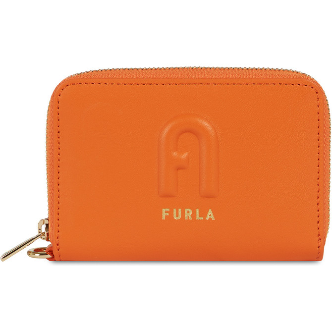 ZIP AROUND ORANGE i FURLA RITA
