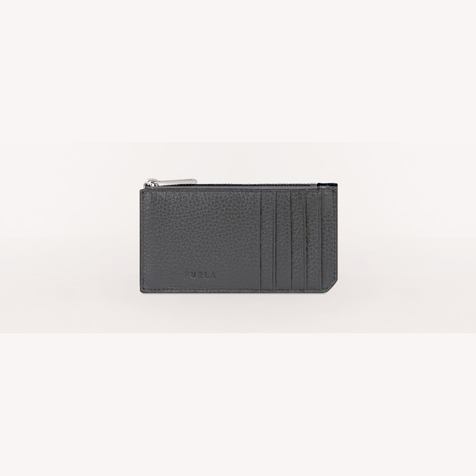 CREDIT CARD CASE LAVA a FURLA MAN MERCURIO