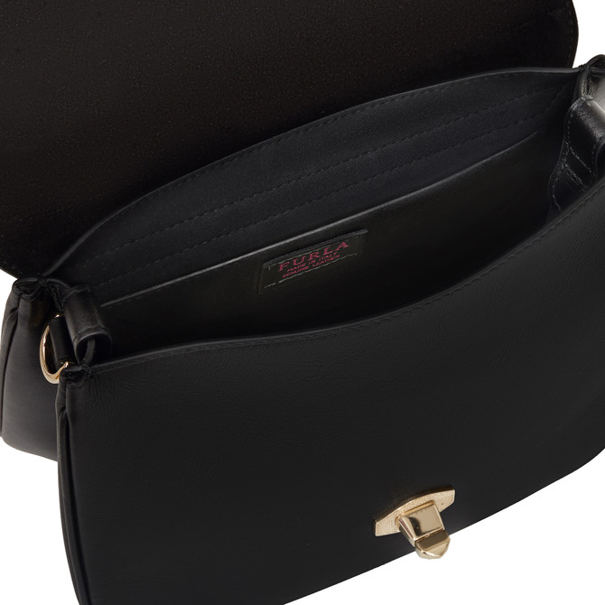 TOP HANDLE S NERO FURLA EYE
