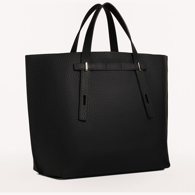 TOTE-BAG NERO FURLA MAN GIOVE