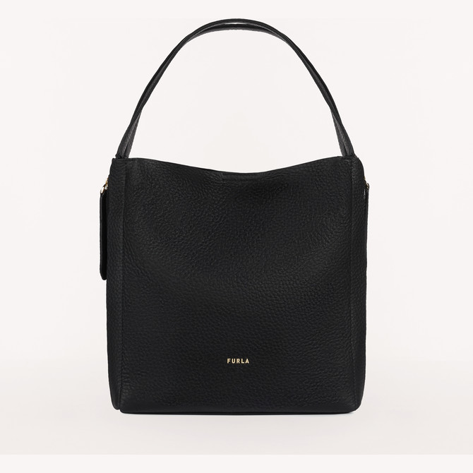 HOBO NERO FURLA GRACE