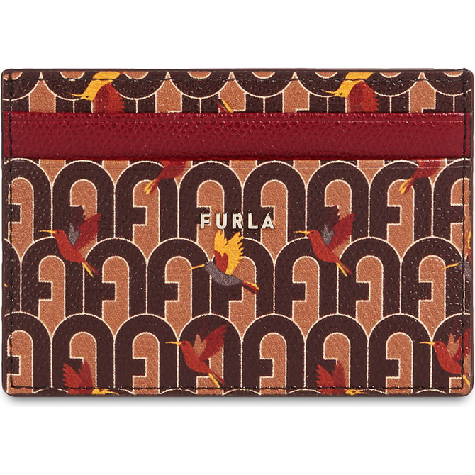 CREDIT CARD CASE TONI CAFFE' FURLA BABYLON