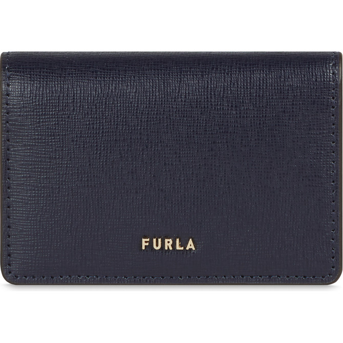 BUSINESS CARD CASE OCEANO h FURLA BABYLON