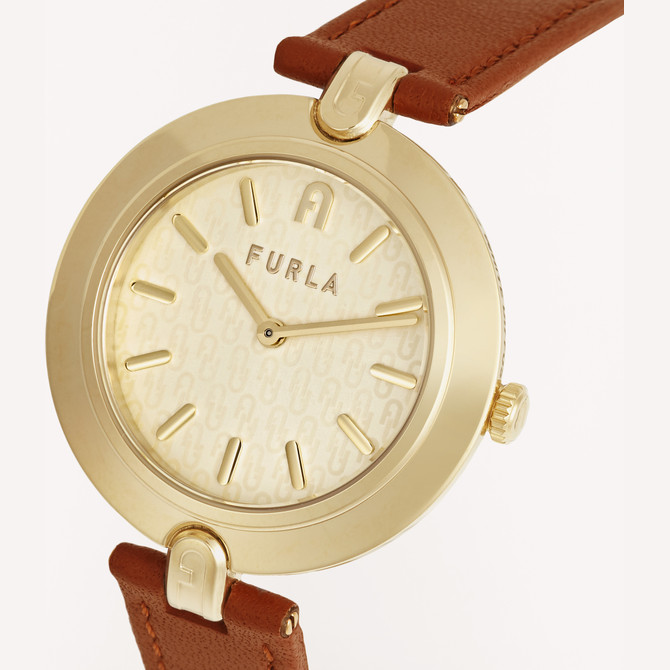 MONTRE COGNAC h FURLA LOGO LINKS
