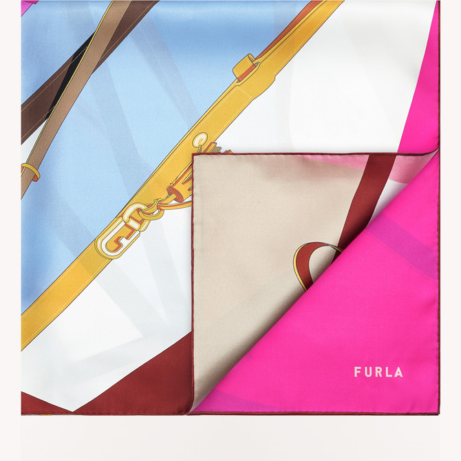 SCHAL FLAMINGO PURPLE i FURLA TORTONA