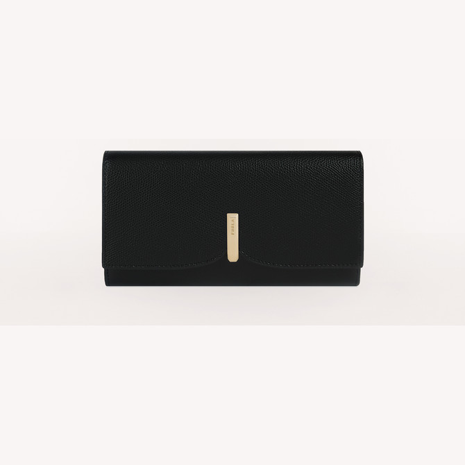 CONTINENTAL WALLET XL NERO FURLA RIBBON