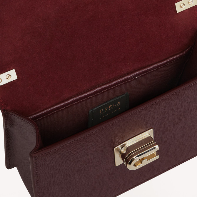 MINI CROSSBODY BURGUNDY FURLA 1927