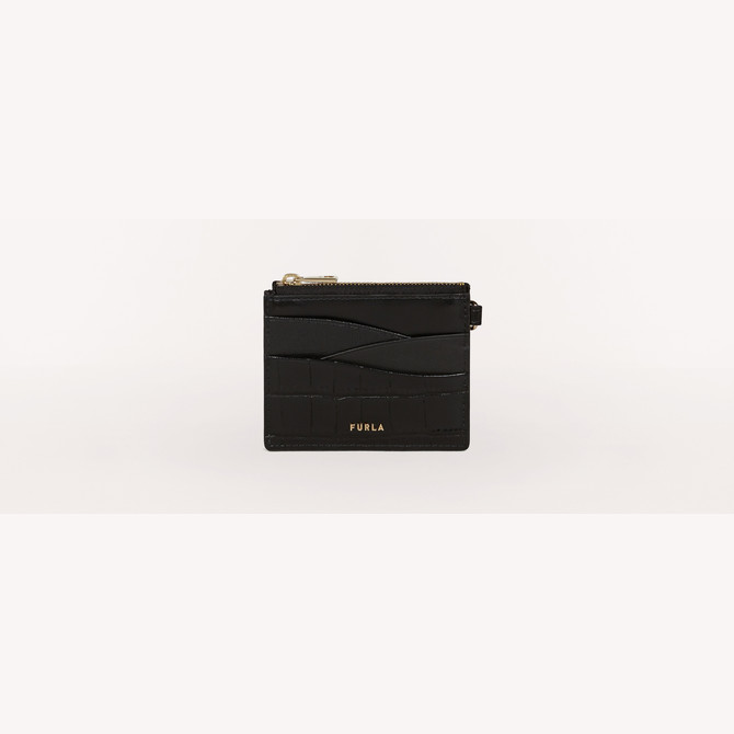 CREDIT CARD CASE NERO FURLA ARMONIA