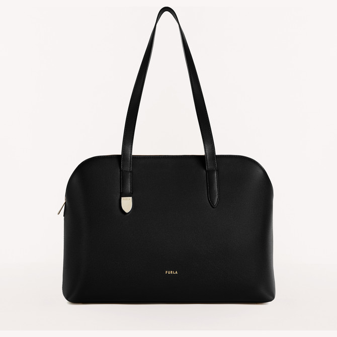 SHOPPING NERO FURLA BLOCK