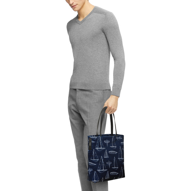 TOTE L TONI BLU FURLA MAN TECHNICAL