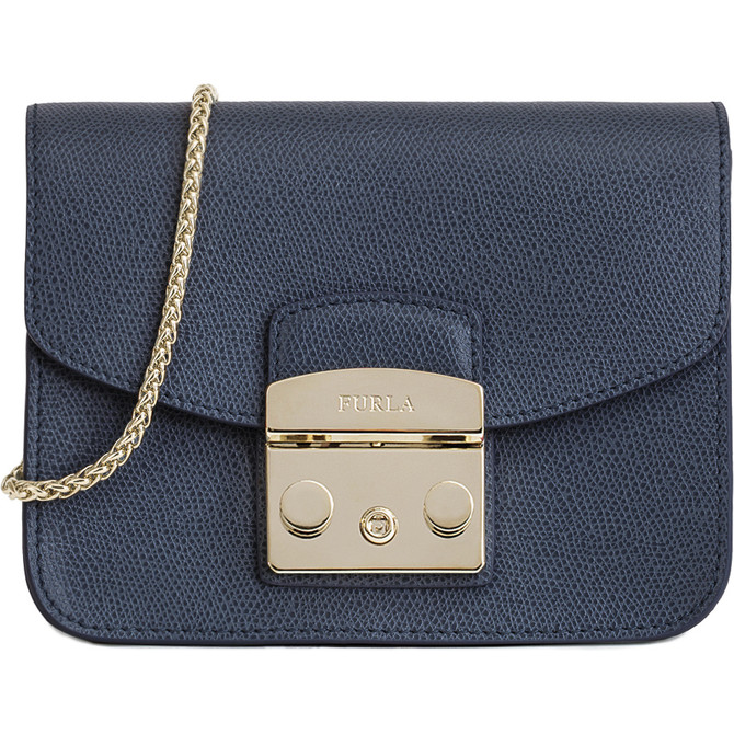 MINI CROSSBODY NAVY b FURLA METROPOLIS