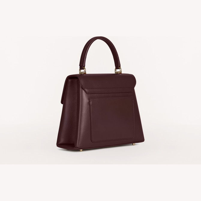 TOP HANDLE S BURGUNDY FURLA 1927