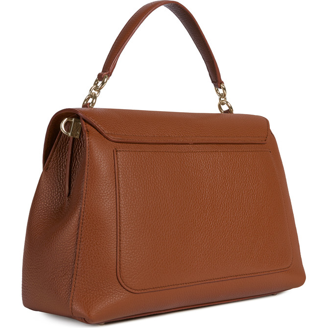 TOP HANDLE COGNAC h FURLA SLEEK