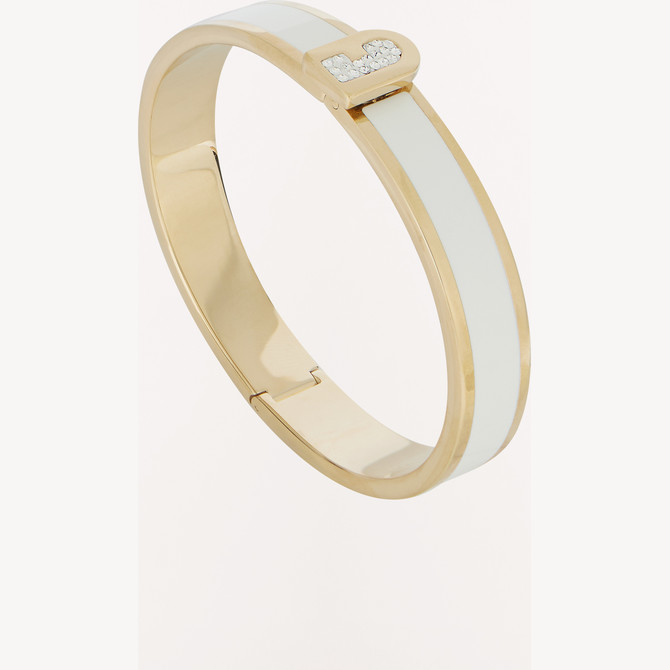 BRAZALETE COLOR ORO FURLA NEW CRYSTAL