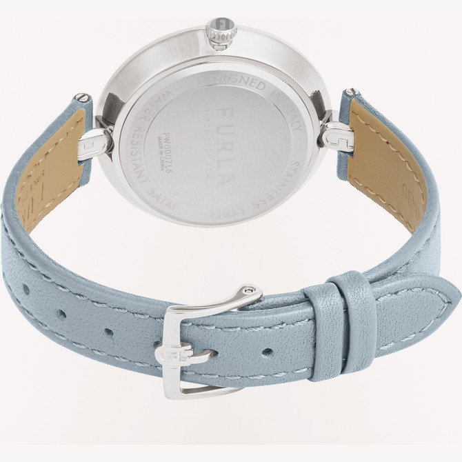 WATCH COLOR SILVER FURLA LOGO LINKS