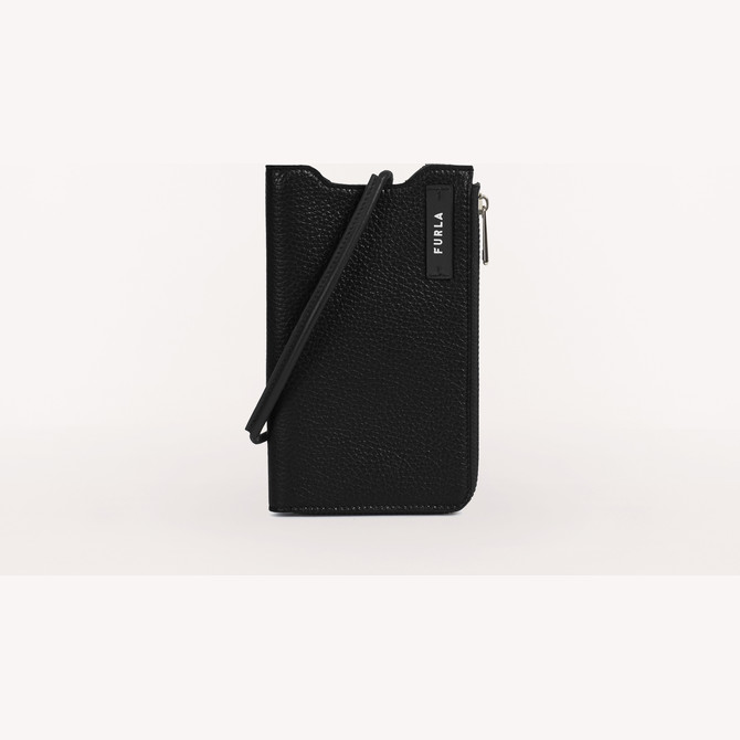 MOBILE CASE  NERO FURLA MAN TECHNICAL