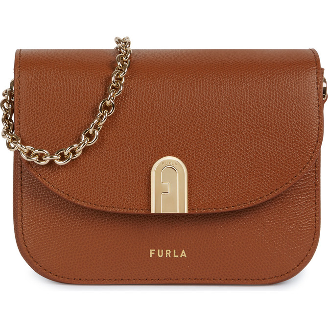 MINI CROSSBODY COGNAC h FURLA 1927