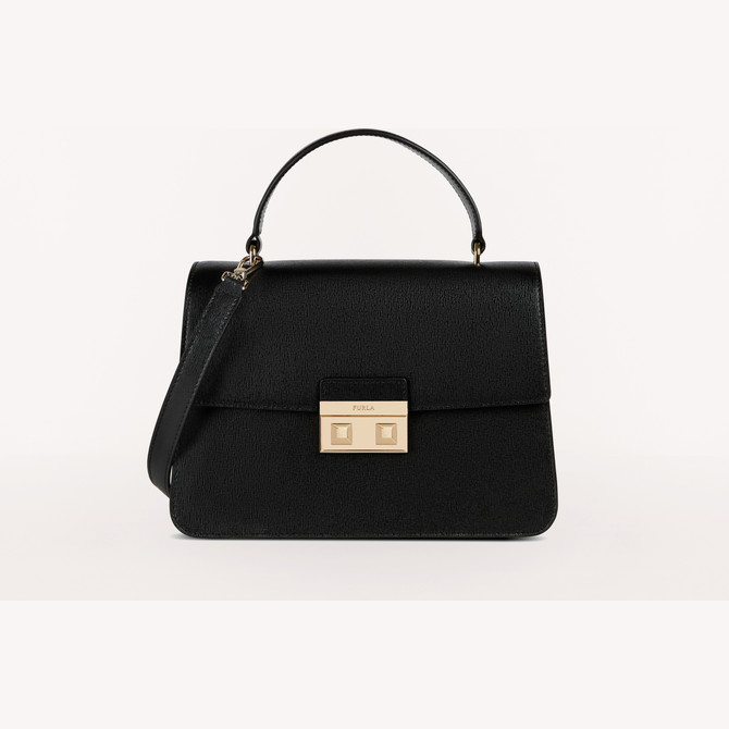 TOP HANDLE S NERO FURLA LND