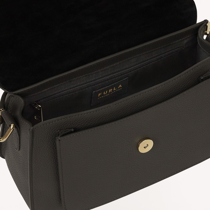 TOP HANDLE M ASFALTO g FURLA SOFIA GRAINY